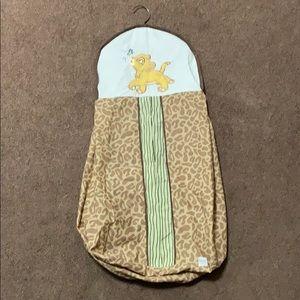 Disney's Luongo king diaper  hanger